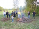 20140501 Mieszkańcy Doliny Radomki sprzątają świat