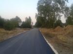 Budowa drogi Bartodzieje-Olszowa - sierpień 2015