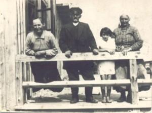 Ignacy i Katarzyna Bonieccy - Borki 1937