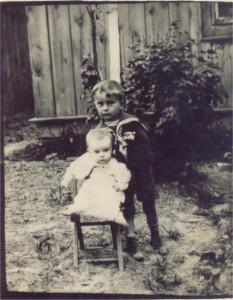 Janczyk Ryszard z siostrą Haliną
