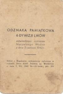 Leg 6 Dywizji Lwów