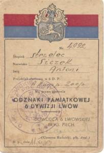 Leg 6 Dywizji Lwów1