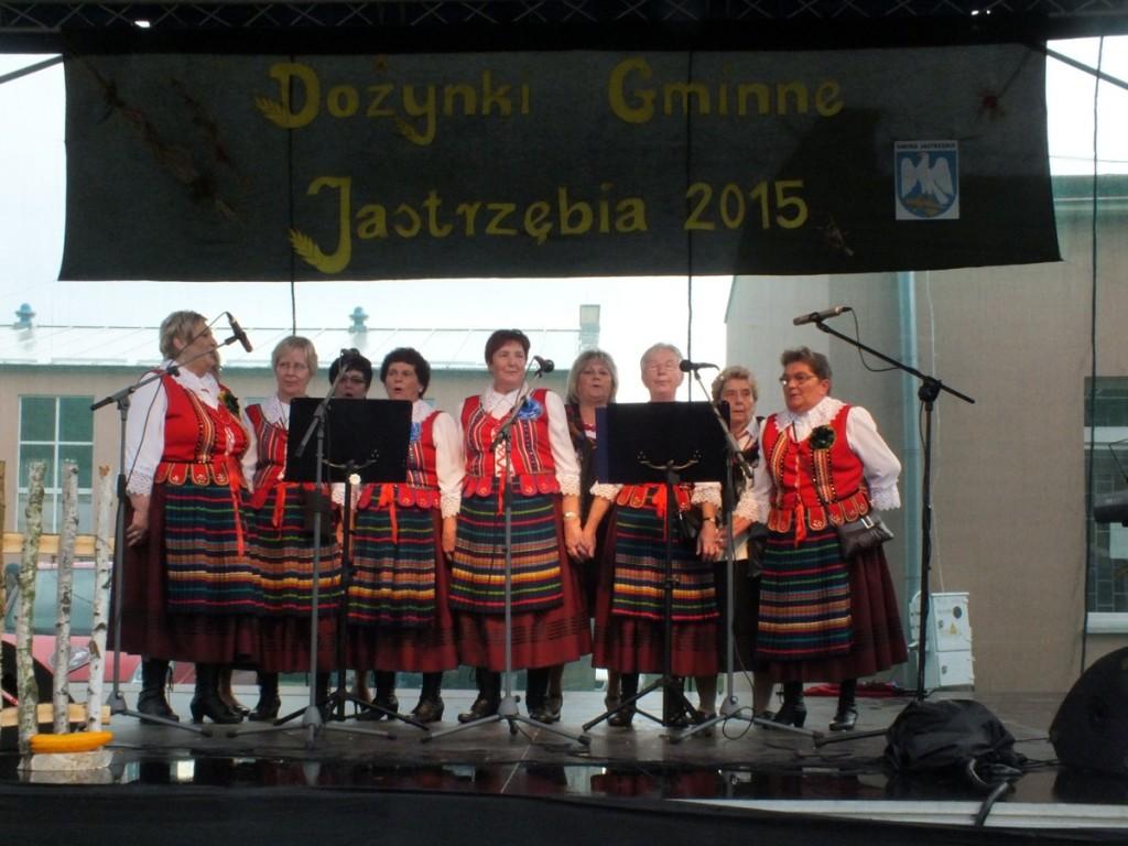 """""""Bartodziejaki"""" na Dożynkach Gminnych w Jastrzębi w 2015 roku"""
