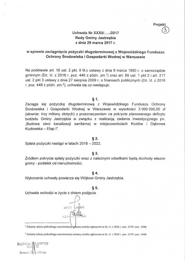 uchwa+éa - po+-yczka d+éugoterminowa-1